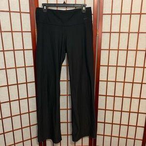 Nike dri fit straight leg yoga pants